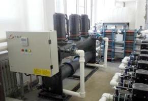 大连财经学院污水热回收工程